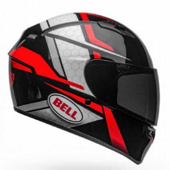 Bell Qualifier Flare Matt Black Red Full Face Helmet