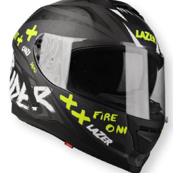 Lazer Rafale Oni Grey Matt Dark Grey Full Face Helmet