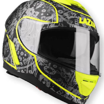 Lazer Rafale Original Up Black Dark Full Face Helmet