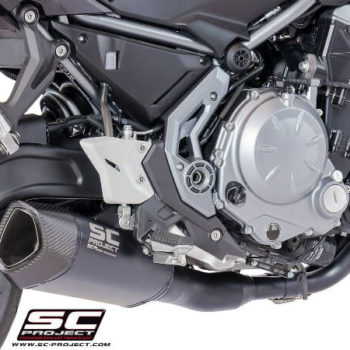 SC Project 2 in 1 Titanium Full System Exhaust for Ninja 650