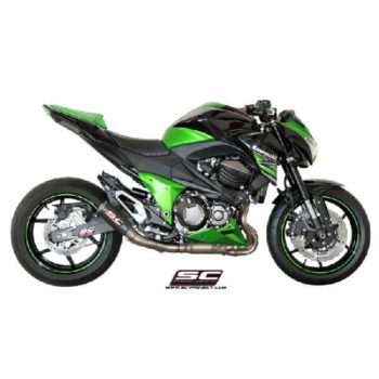 SC Project CRT K 15 38C Carbon Titanium Exhaust for Z800 1