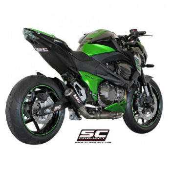 SC Project CRT K 15 38C Carbon Titanium Exhaust for Z800