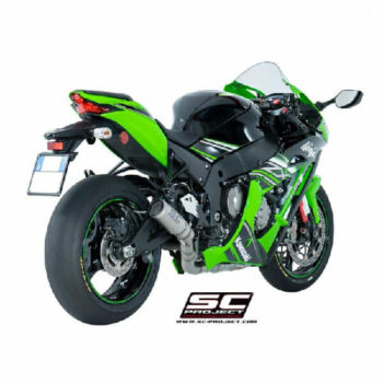 SC Project CRT K22 36C Carbon Slip On Exhaust for ZX10R 1