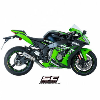 SC Project CRT K22 36C Carbon Slip On Exhaust for ZX10R