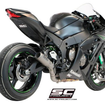 SC Project CRT K22 36T Titanium Slip On Exhaust for ZX10R 1