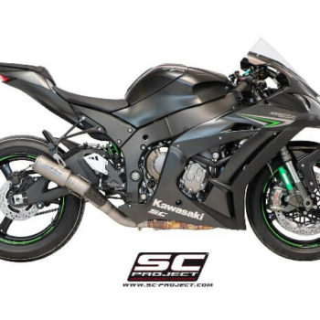 SC Project CRT K22 36T Titanium Slip On Exhaust for ZX10R
