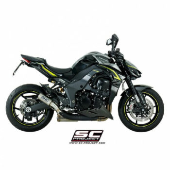 SC Project CRT K24 36T Titanium Slip On Exhaust for Ninja 1000