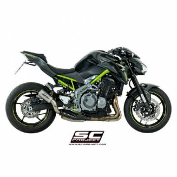 SC Project CRT K25 T36T Titanium Slip On Exhaust for Z900 1