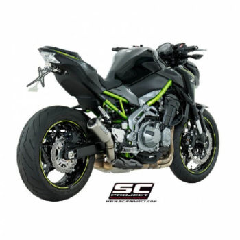 SC Project CRT K25 T36T Titanium Slip On Exhaust for Z900 2