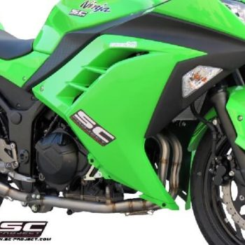 SC Project Full System Exhaust for Ninja 300 1