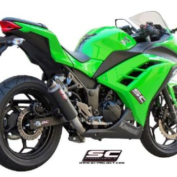 SC Project Full System Exhaust for Ninja 300