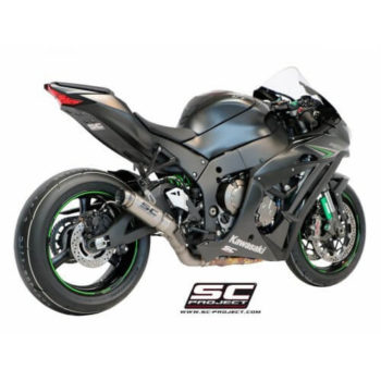 SC Project GP70R K22 70T Titanium Slip On Exhaust for ZX10R 1