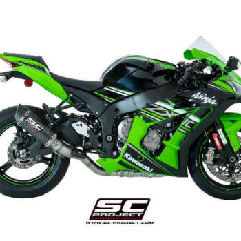 SC Project Oval Racing K22 40FTC Slip On Exhaust for ZX10R