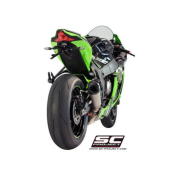 SC Project S1 K22 KT41T Titanuim Slip On Exhaust for ZX10R 1