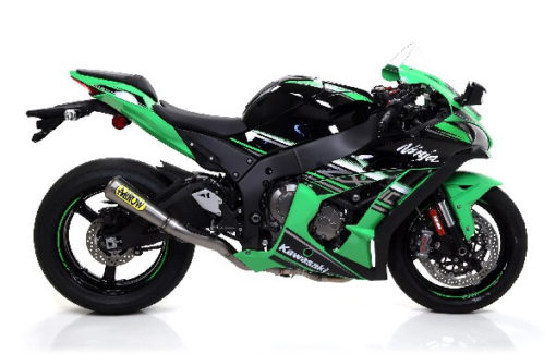 Arrow Pro Race Slip On Half System Exhaust for ZX 10RR 1