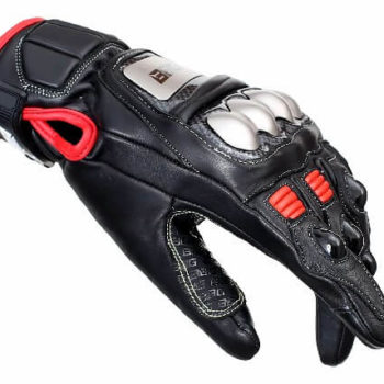 BBG Semi Gauntlet Leather Riding Gloves 1