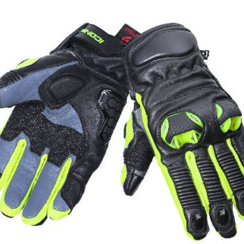 BBG Snell Iconic Fluorescent Yellow Riding Gloves