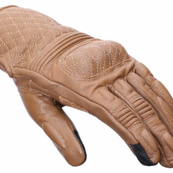BBG Snell Retro Brown Riding Gloves 1
