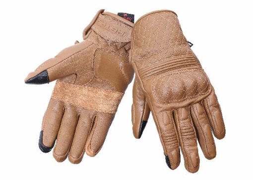 BBG Snell Retro Brown Riding Gloves