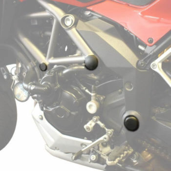 Pyramid Plastics Frame Caps for Ducati Multistrada 1200
