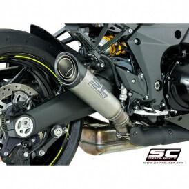 SC Project S1 K24 T4IT Titanium Slip On Exhaust for Z1000