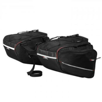 Viaterra Rapide Motorcycle Black Saddlebags 2019