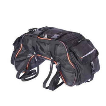 Viaterra Waterproof Claw Black Tail Bag