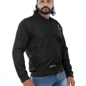 Zeus Urbaner Black Riding Jacket
