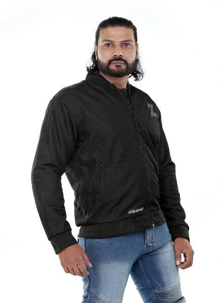 Zeus Urbaner Black Riding Jacket