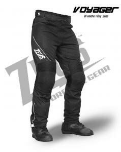 Zeus Voyager Black Riding Pants