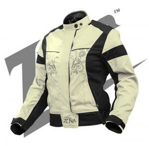 Zeus Zena Ladies Beige Riding Jacket