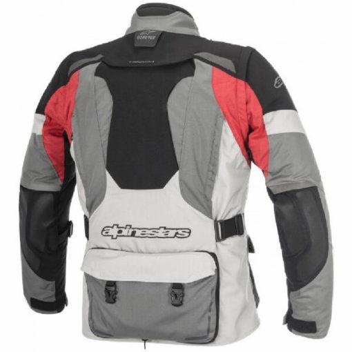 Alpinestars Durban Goretex Grey Black Red Riding Jacket 1