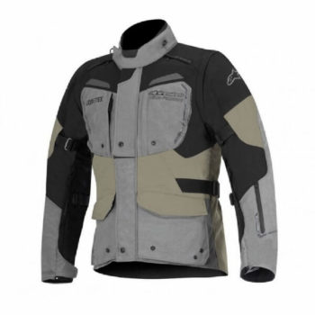 Alpinestars Durban Goretex Grey Black Sand Riding Jacket