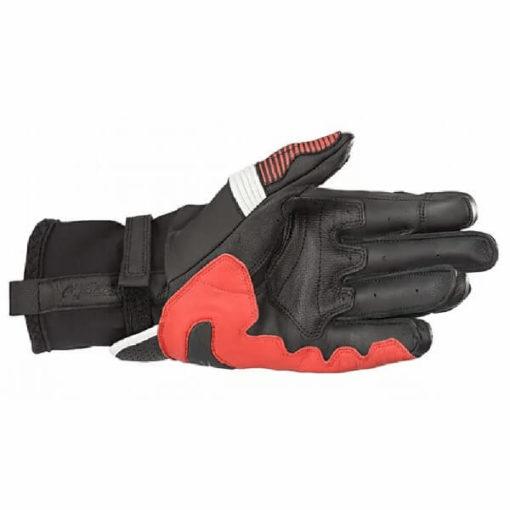 Alpinestars GPX V2 Black White Bright Red Riding Gloves 1