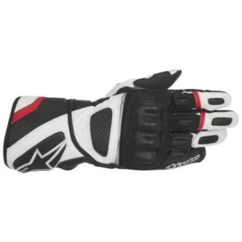 Alpinestars SP Z Drystar Black White Red Riding Gloves