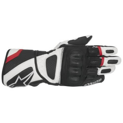 Alpinestars SP Z Drystar Black White Red Riding Gloves
