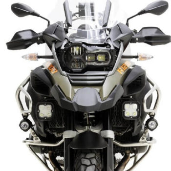 Denali Auxiliary Light Mount for BMW R1200GSA 1