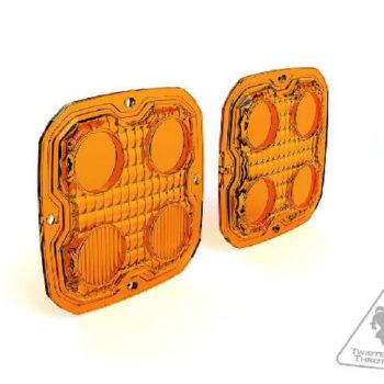 Denali D4 V2.0 Amber TriOptic Lens Kit