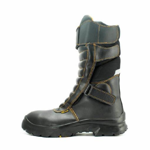 Orazo Ibis Velcro Long Orange Riding Boots 1