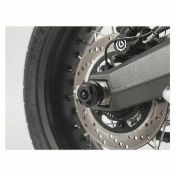 SW Motech Rear Swingarm Sliders for Ducati Scrambler