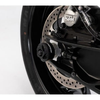 SW Motech Rear Swingarm Sliders for KTM Duke 790