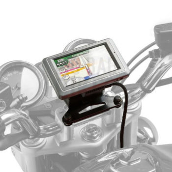 SW Motech Shock Absorbent Quick Lock GPS Mount for Triumph Tiger 800 Tiger Explorer Tiger 1200