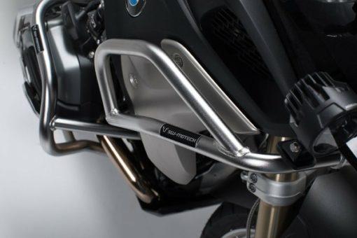 SW Motech Upper Crashbars for BMW R1200GS R1250GS – Stainless Steel
