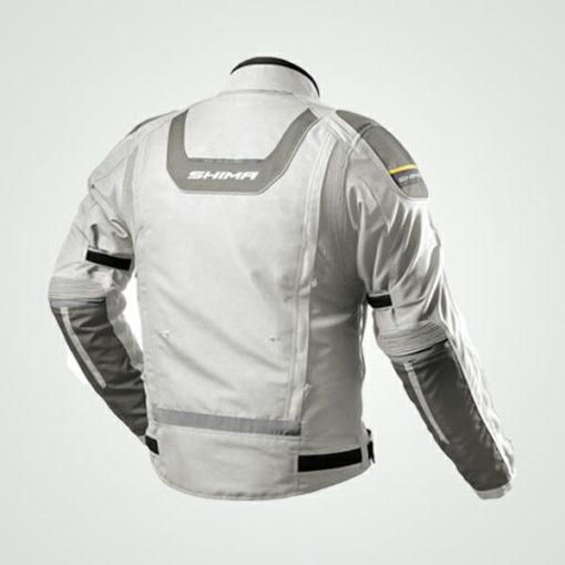 Shima Combat Grey Riding Jacket 1