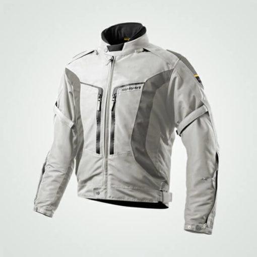Shima Combat Grey Riding Jacket