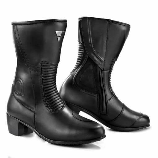 Shima Monaco Black Riding Boots