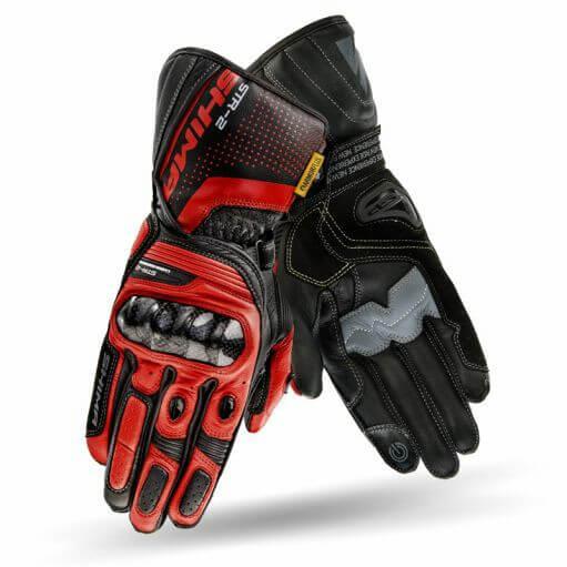 Shima STR 2 Red Black Riding Gloves