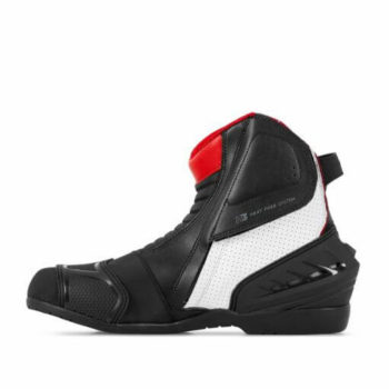 Shima SX 6 Men Black White Red Riding Boots 1