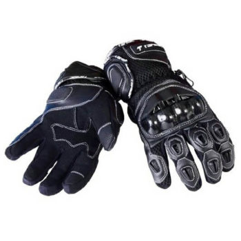 Tarmac Vento II Black Riding Gloves