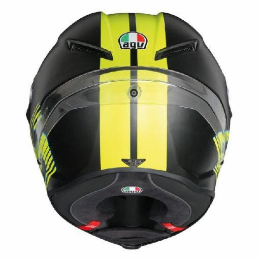 AGV Corsa R Top PLK V46 Matt Black Full Face Helmet 1